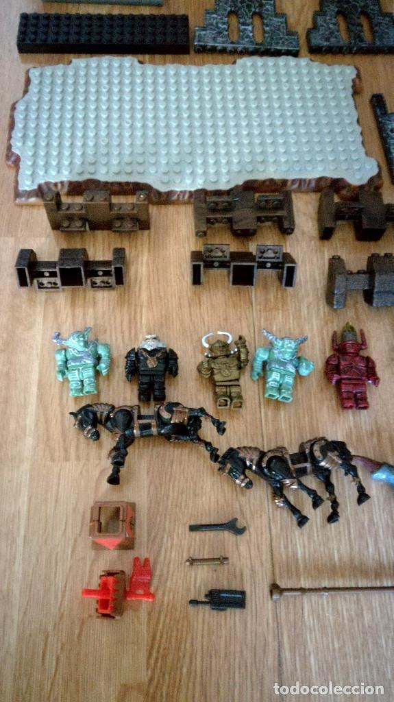 Juegos de mesa: Dragons Iron Raiders caja metal Mega Blocks instrucciones catálogos N. 9650 Megablocks - Foto 3 - 190206497