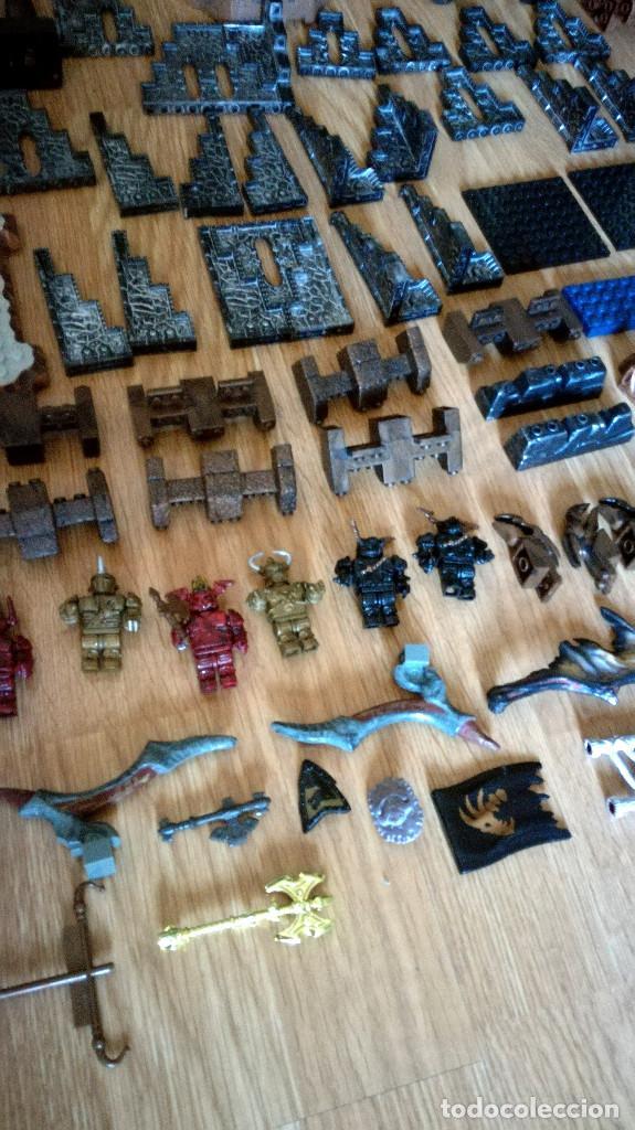 Juegos de mesa: Dragons Iron Raiders caja metal Mega Blocks instrucciones catálogos N. 9650 Megablocks - Foto 4 - 190206497