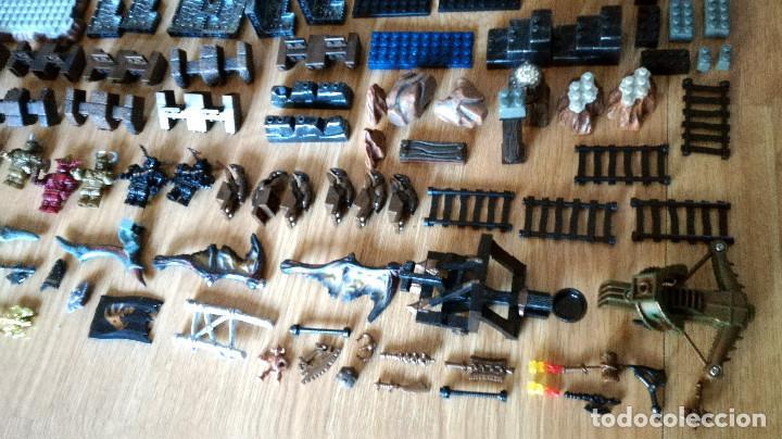 Juegos de mesa: Dragons Iron Raiders caja metal Mega Blocks instrucciones catálogos N. 9650 Megablocks - Foto 5 - 190206497