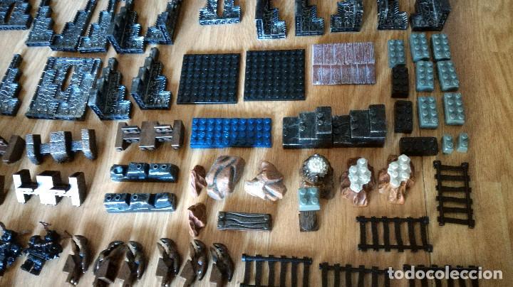 Juegos de mesa: Dragons Iron Raiders caja metal Mega Blocks instrucciones catálogos N. 9650 Megablocks - Foto 6 - 190206497