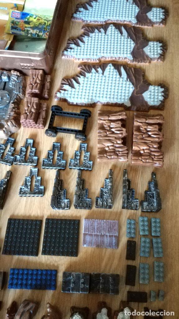 Juegos de mesa: Dragons Iron Raiders caja metal Mega Blocks instrucciones catálogos N. 9650 Megablocks - Foto 8 - 190206497