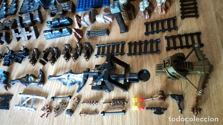 Juegos de mesa: Dragons Iron Raiders caja metal Mega Blocks instrucciones catálogos N. 9650 Megablocks - Foto 9 - 190206497