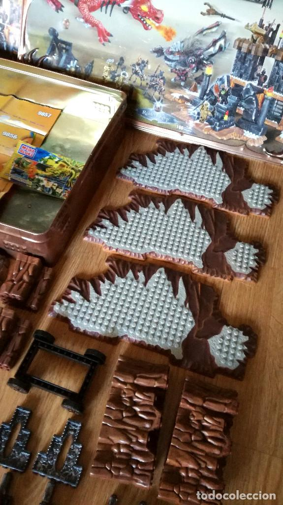 Juegos de mesa: Dragons Iron Raiders caja metal Mega Blocks instrucciones catálogos N. 9650 Megablocks - Foto 11 - 190206497