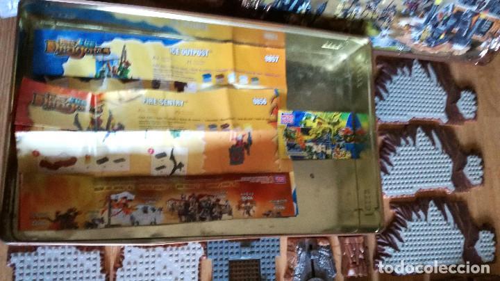 Juegos de mesa: Dragons Iron Raiders caja metal Mega Blocks instrucciones catálogos N. 9650 Megablocks - Foto 13 - 190206497