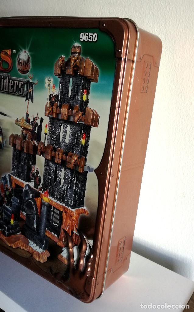 Juegos de mesa: Dragons Iron Raiders caja metal Mega Blocks instrucciones catálogos N. 9650 Megablocks - Foto 18 - 190206497