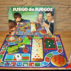 Juegos de mesa: JUEGO DE JUEGOS, DE MB - EN SU CAJA ORIGINAL - AÑOS 80 - JUEGO DE MESA. Lote 190403517
