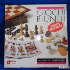 Juegos de mesa: DIDATTO - JUEGOS REUNIDOS DIDATTO EN SU CAJA ORIGINAL MADE IN ITALY, VER FOTOS! SM. Lote 191177152