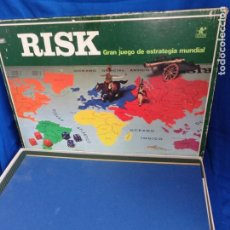 Juegos de mesa: RISK - ANTIGUO JUEGO DE ESTRATEGIA MUNDIAL RISK DE BORRAS, REF: 7800 VER FOTOS! SM. Lote 191177573