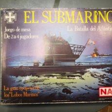 Juegos de mesa: EL SUBMARINO JUEGO ESTRATEGIA NAC. Lote 191231460