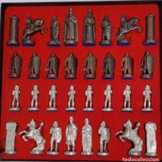 Juegos de mesa: AJEDREZ FIGURAS DE METAL 6 CM - DEL DIARIO VASCO GARA. Lote 191256360