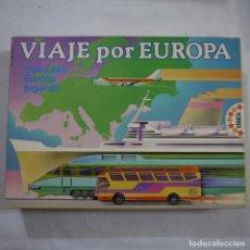 Juegos de mesa: VIAJE POR EUROPA - EDUCA - 1987 . Lote 191337402