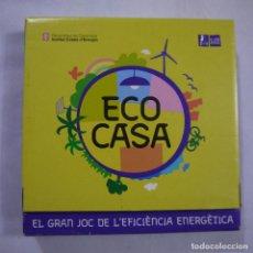 Juegos de mesa: ECO CASA. EL GRAN JOC DE L'EFICIENCIA ENERGETICA - EN CATALAN. Lote 191338227