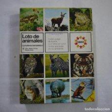 Juegos de mesa: LOTO DE ANIMALES. LA LOTERÍA FANTÁSTICA - EDUCA . Lote 191338583