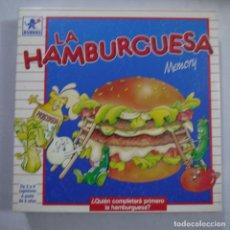 Juegos de mesa: LA HAMBURGUES - BORRAS . Lote 191339901