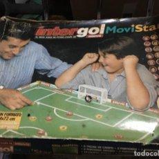 Juegos de mesa: INTERGOL MOVISTAR JUEG ODE MESA FUTBOL CHAPAS CON TABLERO PORTERIAS ETC KREATEN. Lote 191347453