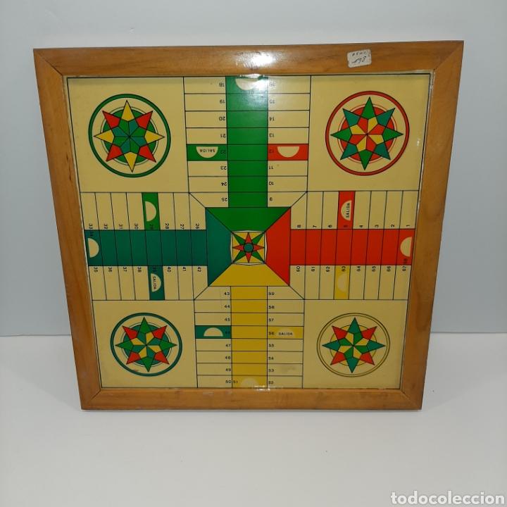 TABLERO PARCHIS ANTIGUO (Juguetes - Juegos - Juegos de Mesa)