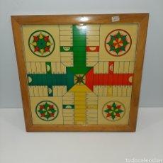 Juegos de mesa: TABLERO PARCHIS ANTIGUO. Lote 191349085