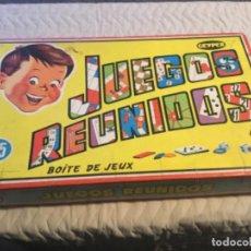 Juegos de mesa: JUEGOS REUNIDOS GEYPER. Lote 191375831