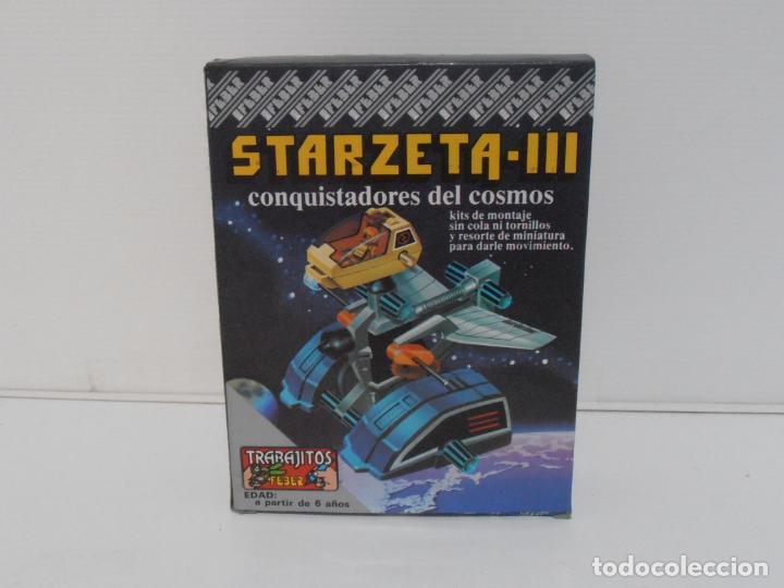 JUEGO STARZETA III CONQUISTADORES DEL COSMOS, TRABAJITOS FEBER, NUEVO A ESTRENAR, ANTIGUA JUGUETERIA (Juguetes - Juegos - Juegos de Mesa)