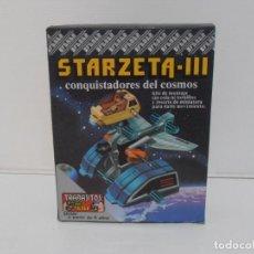 Juegos de mesa: JUEGO STARZETA III CONQUISTADORES DEL COSMOS, TRABAJITOS FEBER, NUEVO A ESTRENAR, ANTIGUA JUGUETERIA. Lote 191442120