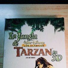 Juegos de mesa: LA JUNGLA DE TARZAN EN 3D DE WALT DISNEY DEL PAÍS A ESTRENAR. Lote 191497715