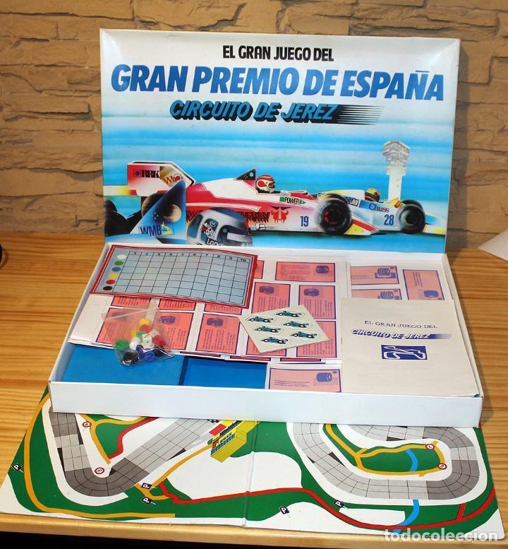 EL GRAN JUEGO DEL GRAN PREMIO DE ESPAÑA, CIRCUITO DE JEREZ - PUBLIJUEGO. NUEVO A ESTRENAR. JUEGO. (Juguetes - Juegos - Juegos de Mesa)
