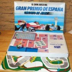 Juegos de mesa: EL GRAN JUEGO DEL GRAN PREMIO DE ESPAÑA, CIRCUITO DE JEREZ - PUBLIJUEGO. NUEVO A ESTRENAR. JUEGO.. Lote 191636806