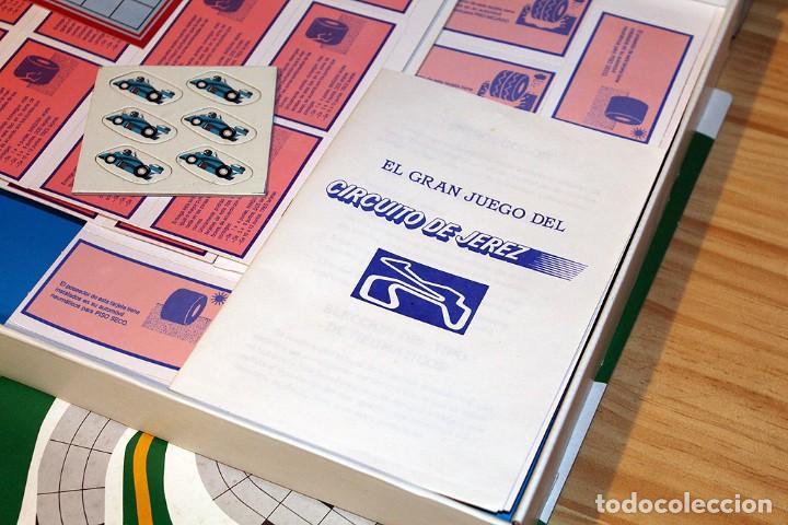 Juegos de mesa: EL GRAN JUEGO DEL GRAN PREMIO DE ESPAÑA, CIRCUITO DE JEREZ - PUBLIJUEGO. NUEVO A ESTRENAR. JUEGO. - Foto 3 - 191636806