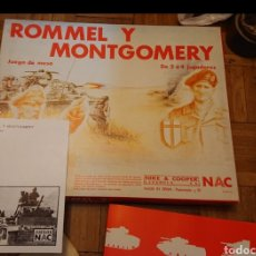 Jogos de mesa: JUEGO NAC, ROMMEL, ALAMEIN, II GUERRA MUNDIAL, AÑOS 80. Lote 191689033