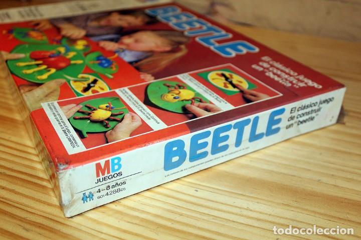 Juegos de mesa: ANTIGUO JUEGO DE MESA BEETLE, DE MB JUEGOS - NUEVO Y PRECINTADO - AÑO 1982 - Foto 2 - 191775797
