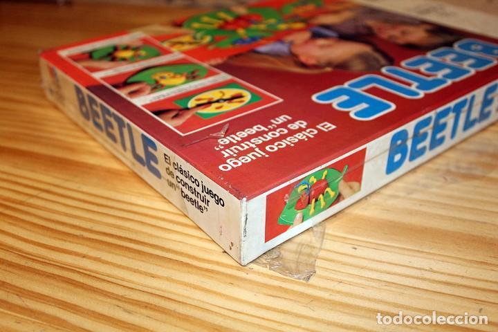 Juegos de mesa: ANTIGUO JUEGO DE MESA BEETLE, DE MB JUEGOS - NUEVO Y PRECINTADO - AÑO 1982 - Foto 3 - 191775797