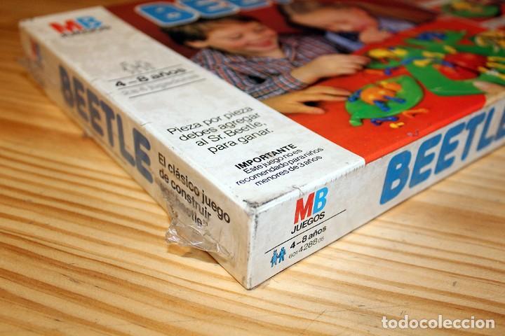 Juegos de mesa: ANTIGUO JUEGO DE MESA BEETLE, DE MB JUEGOS - NUEVO Y PRECINTADO - AÑO 1982 - Foto 5 - 191775797