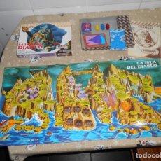 Jogos de mesa: LA ISLA DEL DIABLO AÑOS 80 FEBERJUEGOS FEBER JUEGOS. Lote 191879258