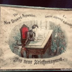 Juegos de mesa: JUEGO APARATO DIBUJAR APPAREIL A DESSINER S XIX 2,5X24X30CMS. Lote 191965683