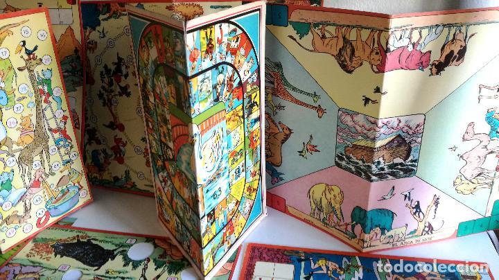 Juegos de mesa: Excelente Lote 23 juegos cartones antiguos Juegos Reunidos Geyper dibujante Kapa - Foto 2 - 192133451