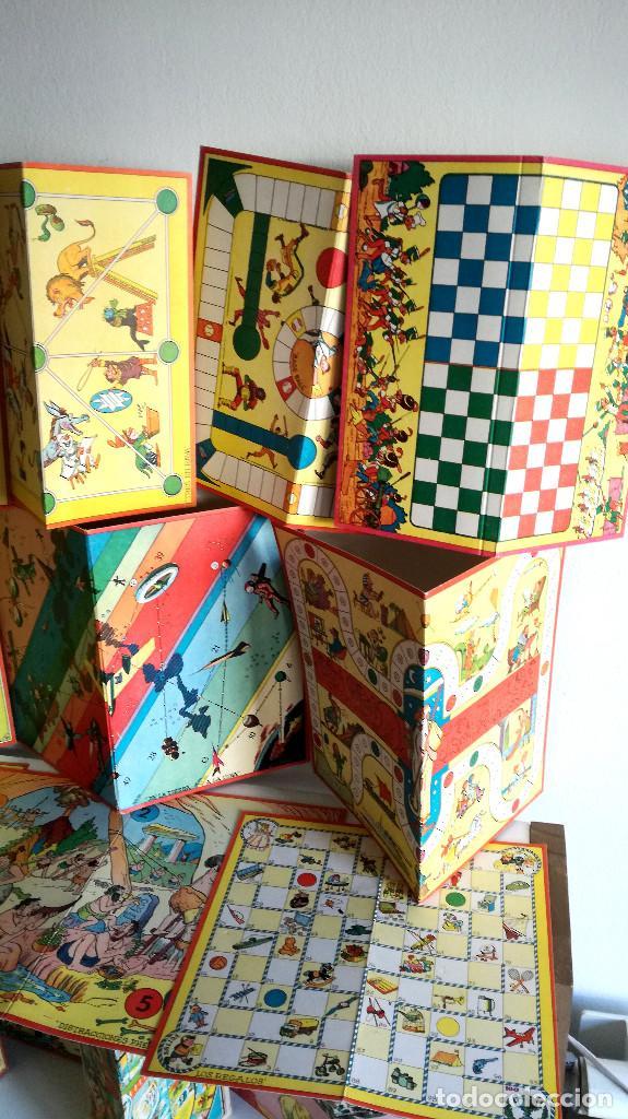 Juegos de mesa: Excelente Lote 23 juegos cartones antiguos Juegos Reunidos Geyper dibujante Kapa - Foto 4 - 192133451