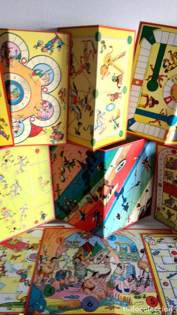 Juegos de mesa: Excelente Lote 23 juegos cartones antiguos Juegos Reunidos Geyper dibujante Kapa - Foto 5 - 192133451