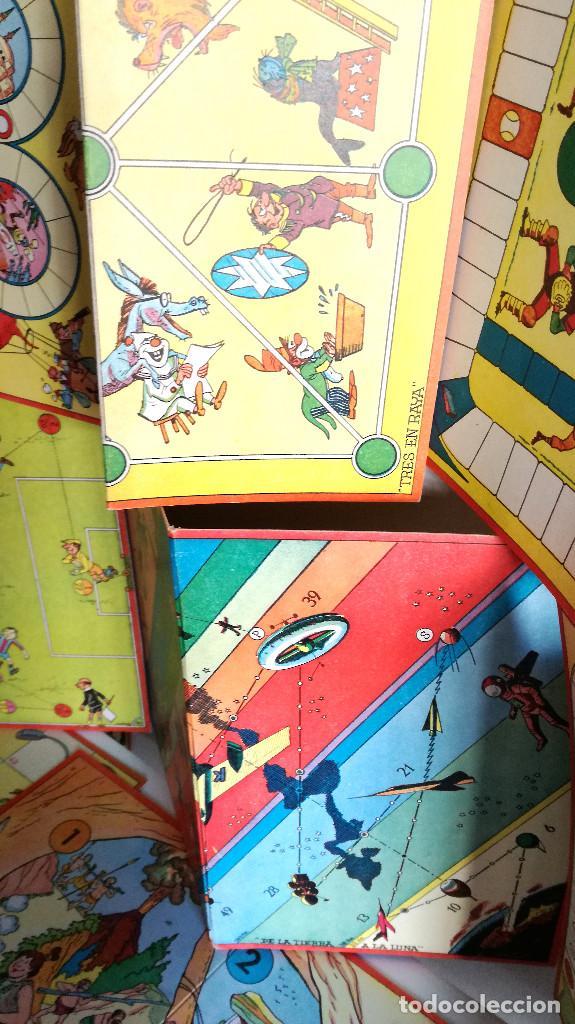 Juegos de mesa: Excelente Lote 23 juegos cartones antiguos Juegos Reunidos Geyper dibujante Kapa - Foto 6 - 192133451