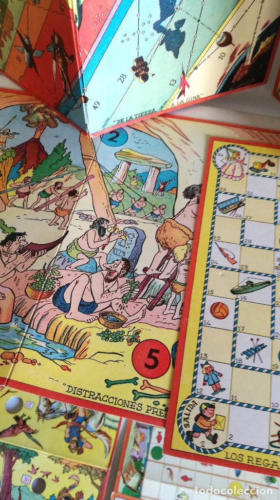 Juegos de mesa: Excelente Lote 23 juegos cartones antiguos Juegos Reunidos Geyper dibujante Kapa - Foto 7 - 192133451