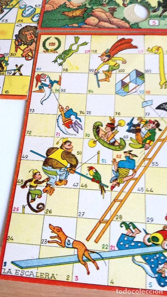 Juegos de mesa: Excelente Lote 23 juegos cartones antiguos Juegos Reunidos Geyper dibujante Kapa - Foto 12 - 192133451