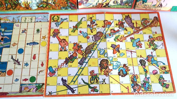 Juegos de mesa: Excelente Lote 23 juegos cartones antiguos Juegos Reunidos Geyper dibujante Kapa - Foto 14 - 192133451
