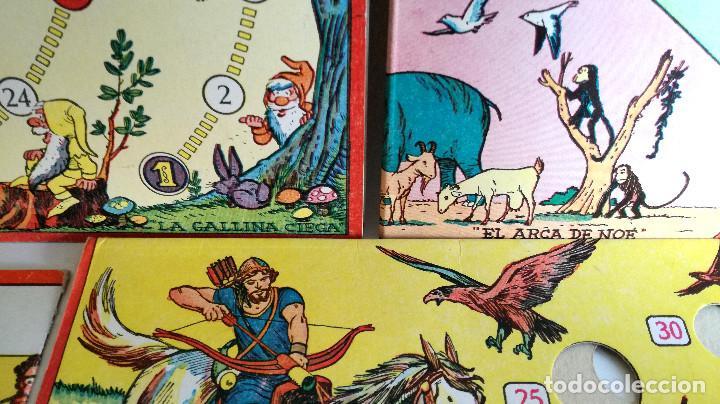 Juegos de mesa: Excelente Lote 23 juegos cartones antiguos Juegos Reunidos Geyper dibujante Kapa - Foto 15 - 192133451