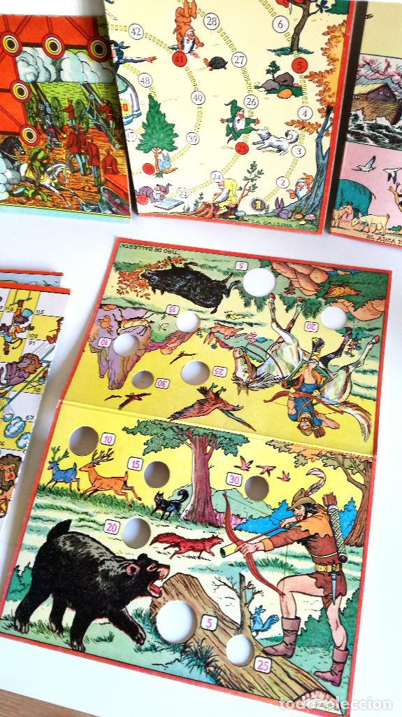 Juegos de mesa: Excelente Lote 23 juegos cartones antiguos Juegos Reunidos Geyper dibujante Kapa - Foto 17 - 192133451