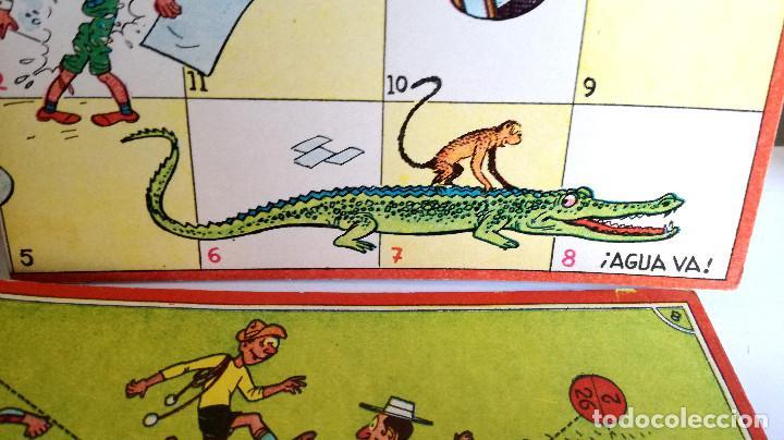 Juegos de mesa: Excelente Lote 23 juegos cartones antiguos Juegos Reunidos Geyper dibujante Kapa - Foto 18 - 192133451