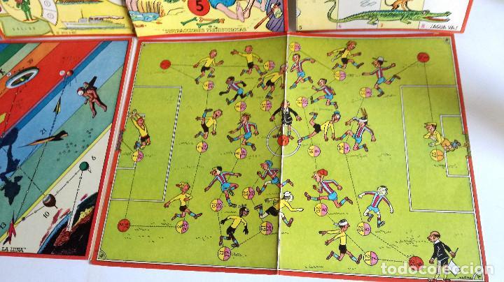 Juegos de mesa: Excelente Lote 23 juegos cartones antiguos Juegos Reunidos Geyper dibujante Kapa - Foto 22 - 192133451
