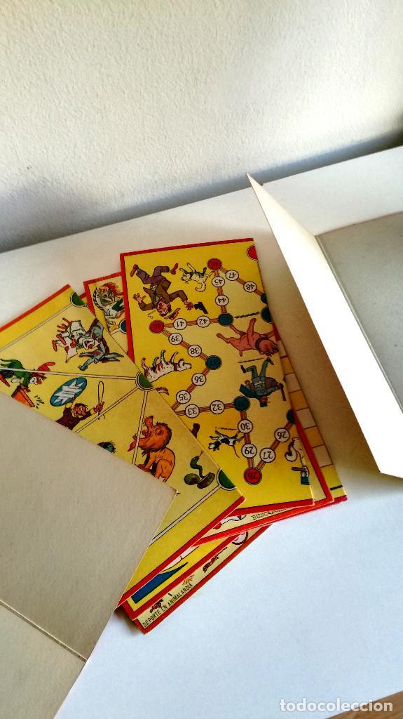 Juegos de mesa: Excelente Lote 23 juegos cartones antiguos Juegos Reunidos Geyper dibujante Kapa - Foto 23 - 192133451