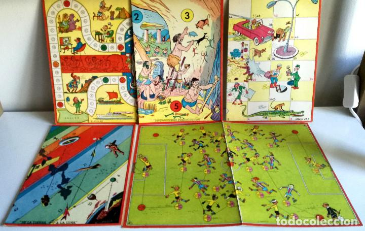 Juegos de mesa: Excelente Lote 23 juegos cartones antiguos Juegos Reunidos Geyper dibujante Kapa - Foto 24 - 192133451