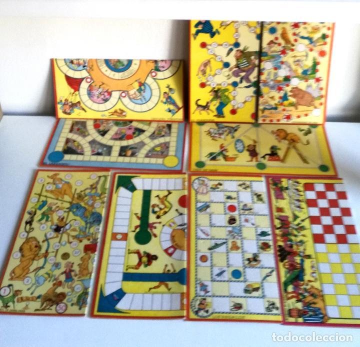 Juegos de mesa: Excelente Lote 23 juegos cartones antiguos Juegos Reunidos Geyper dibujante Kapa - Foto 25 - 192133451