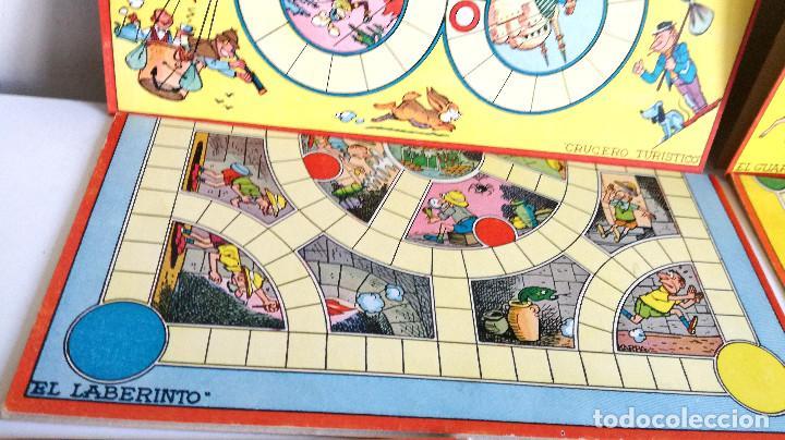 Juegos de mesa: Excelente Lote 23 juegos cartones antiguos Juegos Reunidos Geyper dibujante Kapa - Foto 26 - 192133451