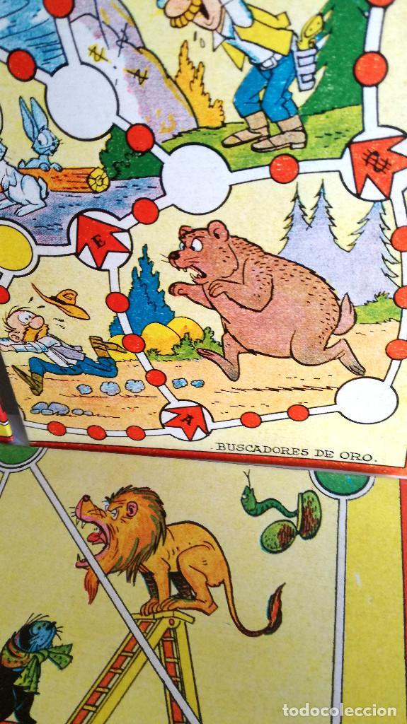 Juegos de mesa: Excelente Lote 23 juegos cartones antiguos Juegos Reunidos Geyper dibujante Kapa - Foto 27 - 192133451